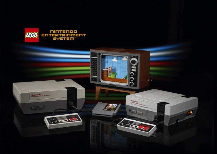 LEGO edition of classic Nintendo Entertainment System™
