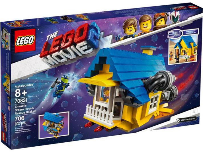 Lego 70831 Emmet's Dream House/Rescue Rocket