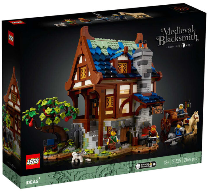 LEGO IDEAS REVEALS MEDIEVAL SET STARRING THE UNSUNG HERO OF THE MIDDLE AGES – THE HONOURABLE BLACKSMITH