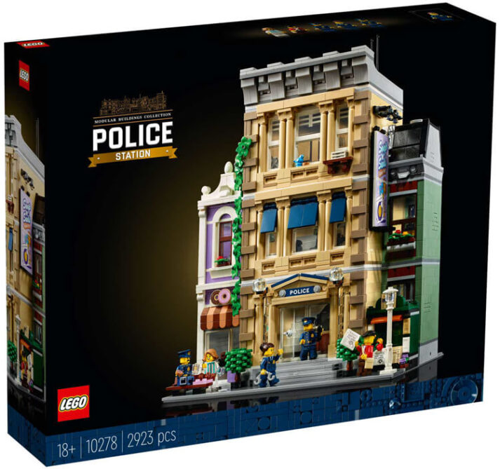 THREE-FLOOR POLICE STATION JOINS THE LEGO MODULAR BUILDINGS COLLECTION